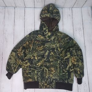 Cabela's Kids Quilted Camouflage Hooded Jacket